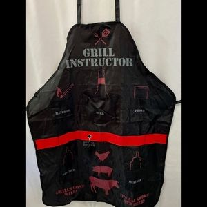Men's Nylon Grilling Apron w/Convenient Pockets